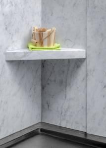 Carrara Shaving Stand